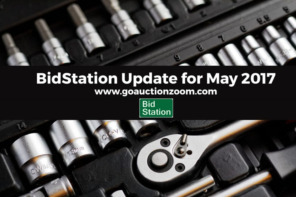 BidStation 1.3.5 update notice.